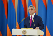 Address by President of the Republic of Armenia Serzh Sargsyan on occasion of the Republic day