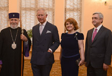 RA First Lady Rita Sargsyan attended the concert organized by the Yerevan, My Love charitable foundation
