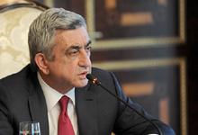 Вступительное слово Президента РА Сержа Саргсяна на заседании Совета национальной безопасности