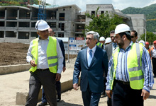 Working visit of President Serzh Sargsyan to Tavush marz