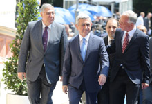 President Serzh Sargsyan participated at the EPP's Summit in Vienna