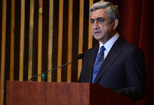 President Serzh Sargsyan's speech at the Memorial complex of the former Majdanek concentration camp