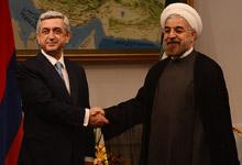 Working visit of President Serzh Sargsyan to the Islamic Republic of Iran