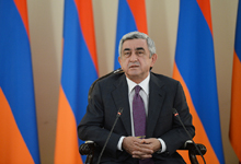 Remarks by President Serzh Sargsyan at the meeting with the schoolchildren and students of excellent academic record and prize-winners of the Olympiads
