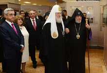 President participated at the ceremony of consecration of the Armenian Cathedral in Moscow and opening of the Church compound