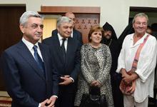 Рабочий визит Президента Сержа Саргсяна в Ширакскую область