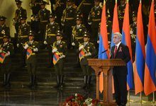 Congratulatory Address by President Serzh Sargsyan on the occasion of Independence Day