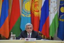 Statement of President Serzh Sargsyan at the closed meeting of the leaders of CSTO Council