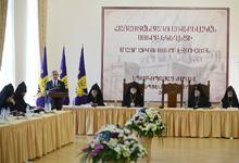 Выступление Президента Сержа Саргсяна на открытии Епископского собрания Святой Армянской Апостольской Церкви