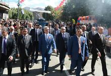 President Serzh Sargsyan's working visit to Syunik marz