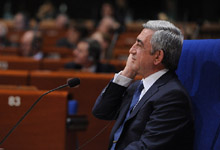 President Serzh Sargsyan at the Plenary Session of the PACE responded to the questions raised by the members of the Parliament