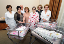 Triple babies are the first born in the framework of Aragil initiative