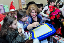 First Lady of Armenia Rita Sargsyan responded to the letter of the 10-year old Shushanik
