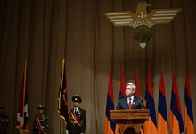 Remarks by President Serzh Sargsyan at the 10th Convention of the Yerkrapah Union