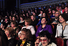 The RA First Lady Rita Sargsyan attended a festive concert organized on the occasion of Women's Day