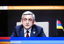 Նախագահ Սերժ Սարգսյանի ելույթը Հաագայում Միջուկային անվտանգության գագաթնաժողովում