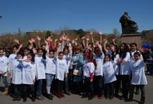 RA First Lady Rita Sargsyan Participated in Walking Tour Dedicated to World Autism Awareness Day