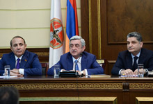 Remarks by RA and RPA President Serzh Sargsyan at RPA Council Session