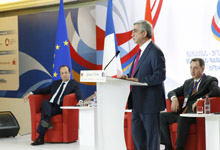 Statement by President Serzh Sargsyan at opening ceremony of Armenian-French economic forum