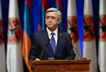 Statement by President of Armenia and President of RPA Serzh Sargsyan at 15th Convention of RPA