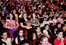 RA First Lady Rita Sargsyan attended Cartoon Non-Stop concert