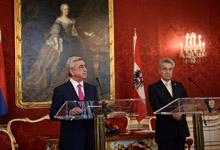 Statement by RA President Serzh Sargsyan at joint press conference with Austrian President Heinz Fischer