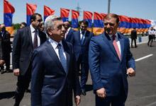 Президент Серж Саргсян совершил рабочую поездку по Еревану