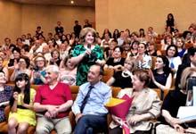 ՀՀ առաջին տիկին Ռիտա Սարգսյանը ներկա է գտնվել «Արմավենի» բարեգործական հիմնադրամի կազմակերպած ընդունելությանը