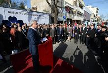 Выступление Президента Сержа Саргсяна на церемонии закладки музея Геноцида армян в Буэнос-Айресе