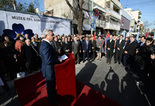 Speech by President Serzh Sargsyan at Armenian Genocide museum groundbreaking ceremony in Buenos Aires