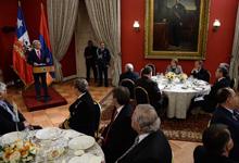Тост Президента Сержа Саргсяна на официальном обеде, данном от имени Президента Республики Чили Мишель Бачелет в честь Президента РА