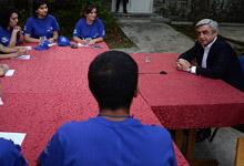 Նախագահ Սերժ Սարգսյանի զրույցը  «Բազե-2014»-ի երիտասարդ լրագրողների ջոկատի անդամների հետ