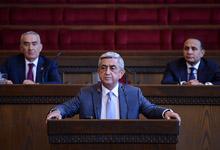 Выступление Президента РА, председателя РПА Сержа Саргсяна на заседании Совета РПА