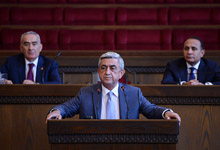 Statement by the RA President, the RPA President Serzh Sargsyan at the session of the RPA Council