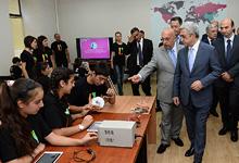 Working visit of President Serzh Sargsyan to Shirak marz