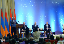 Welcome speech by President Serzh Sargsyan at the award giving ceremony of the Victor Hambardzumyan International Prize