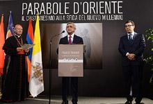 Выступление Президента Сержа Саргсяна РА в Риме на открытии выставки фотографий под названием «Притча Востока: Христианство перед вызовами нового тысячелетия»