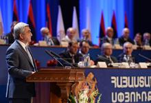 Речь Президента Сержа Саргсяна на 5-м форуме Армения-Диаспора
