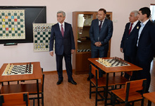 President Serzh Sargsyan makes working visit to Armavir marz