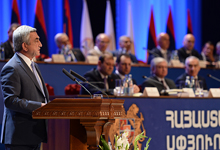 Remarks by President Serzh Sargsyan at the 5th Armenia-Diaspora Conference