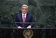 Statement by President Serzh Sargsyan at the 69th session of the UN General Assembly
