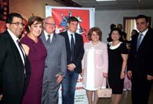 ՀՀ առաջին տիկին Ռիտա Սարգսյանը ներկա է գտնվել «Արտամարմնային բեղմնավորման ժամանակակից խնդիրները» թեմայով գիտաժողովին