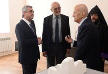 Рабочий визит Президента Сержа Саргсяна в Ширакскую и Лорийскую области