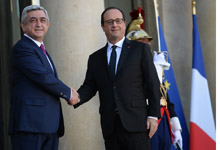 Working visit of President Serzh Sargsyan to the French Rerpublic