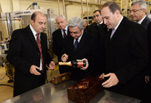 President makes working visit to Armavir and Aragatsotn marzes