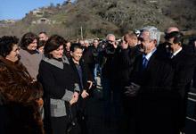 Рабочий визит Президента Сержа Саргсяна в Лорийскую область