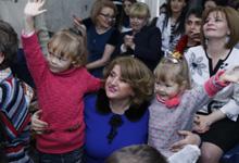 Первая леди Армении Рита Саргсян посетила национальный онкологический центр, центр гематологии и клинику химиотерапии