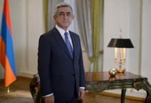 President Serzh Sargsyan's televised New Year message