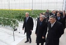 President Serzh Sargsyan's working visit to Kotayk marz