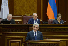 Նախագահ Սերժ Սարգսյանի ելույթը «Եվրանեսթ» խորհրդարանական վեհաժողովի չորրորդ լիագումար նիստի բացմանը
